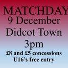 Mangotsfield United...2   Didcot Town...0
