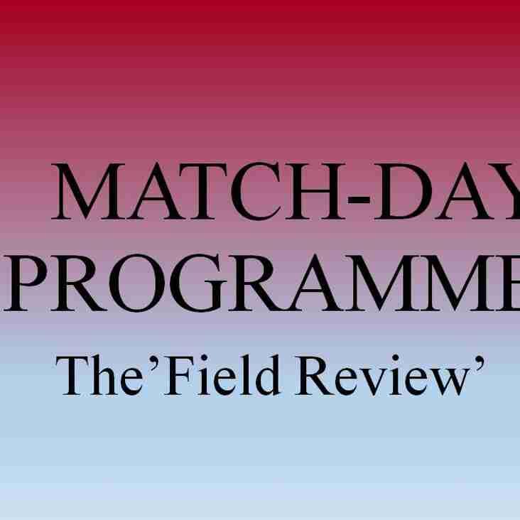 MatchDay Programmes