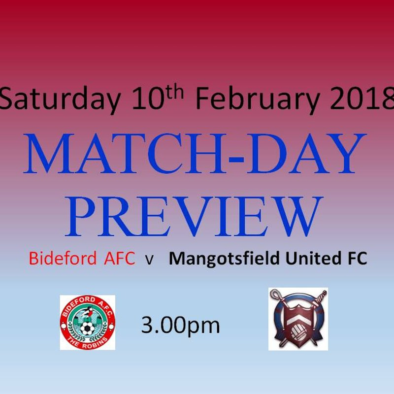 Matchday Preview -UPDATE