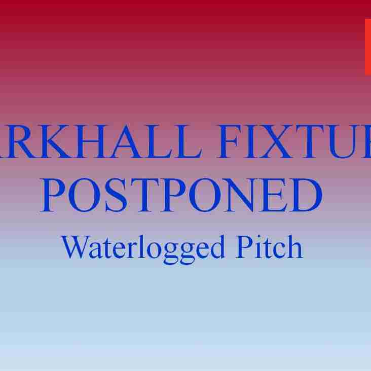 Larkhall Postponed