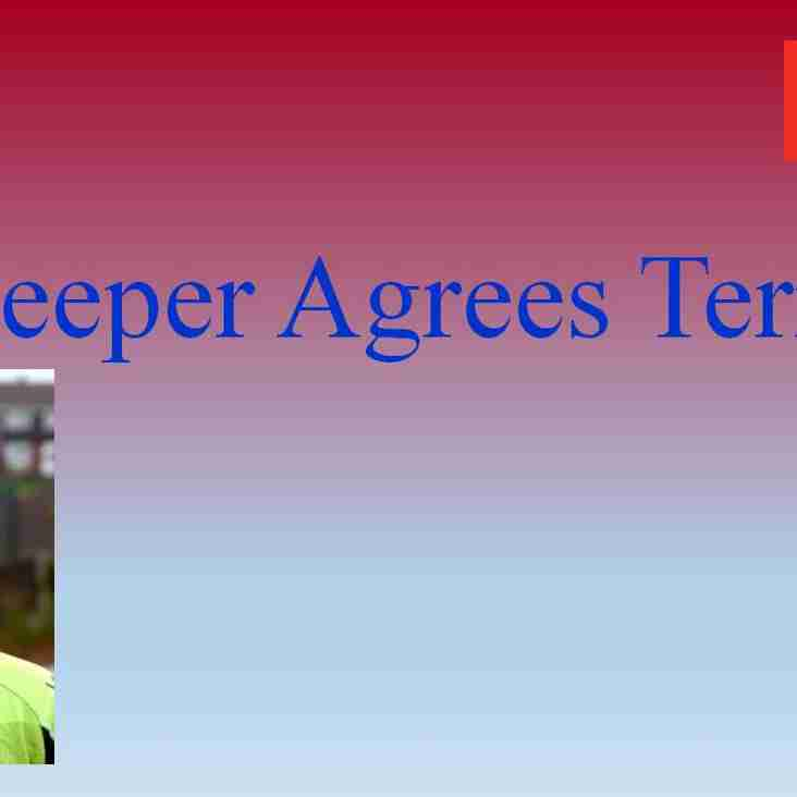 Keeper agrees terms with Mangos