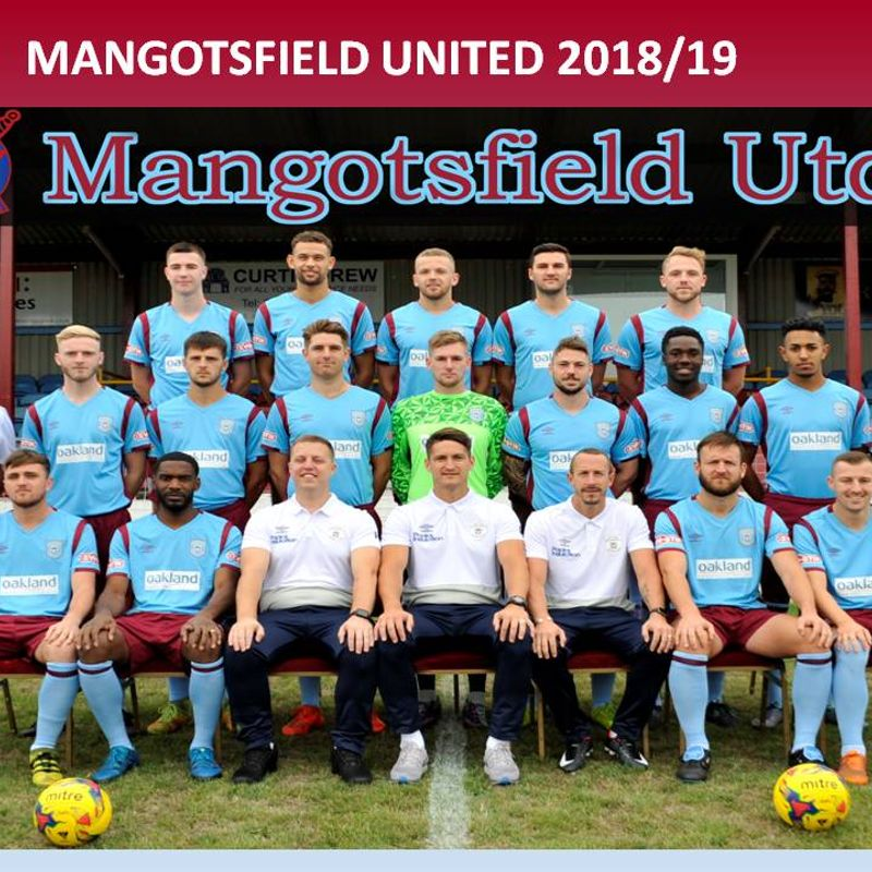 Mangotsfield United 2018/19