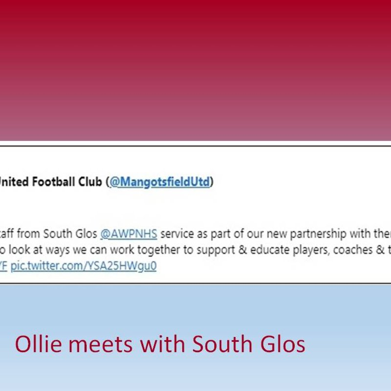 Ollie meets with South Glos