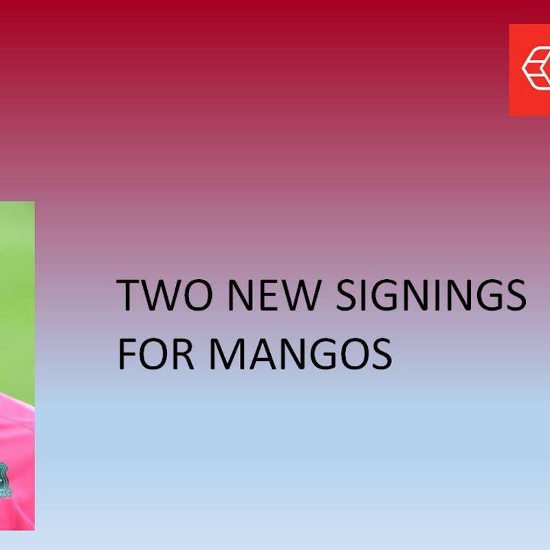 Two new signings