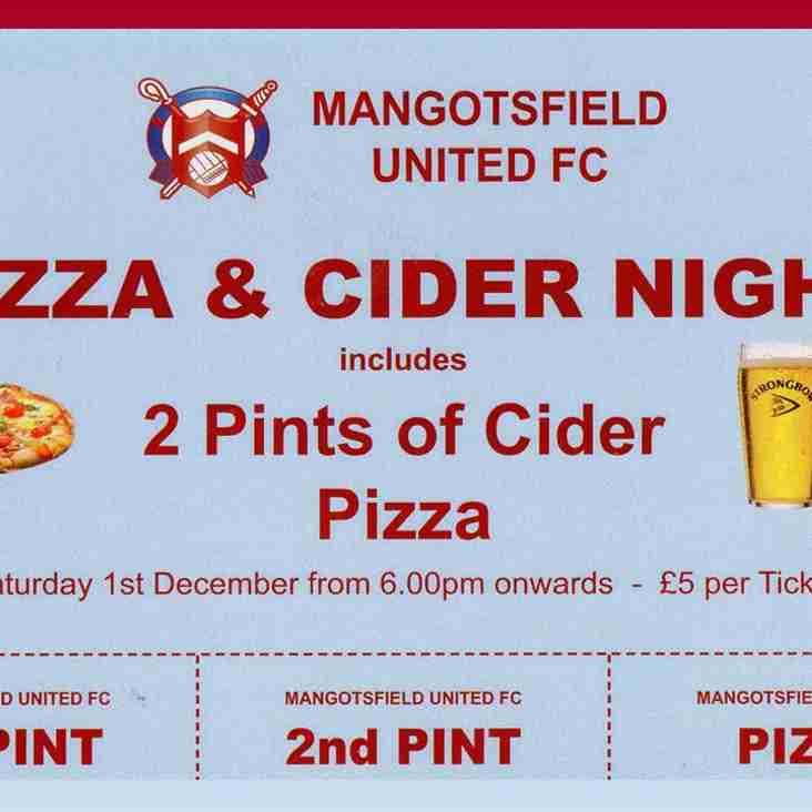 Cider & Pizza Night