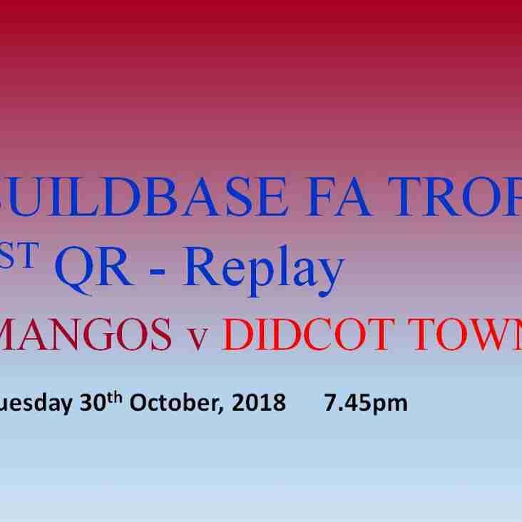 Mangotsfield United v Didcot Town