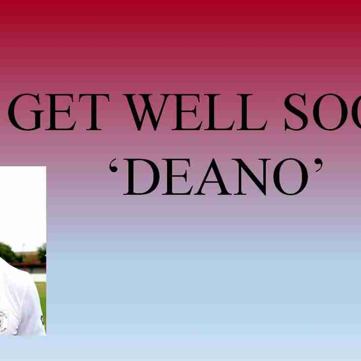 Deano in Hospital