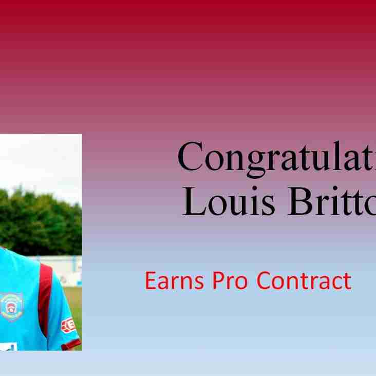 Louis Britton Earns Pro Contract