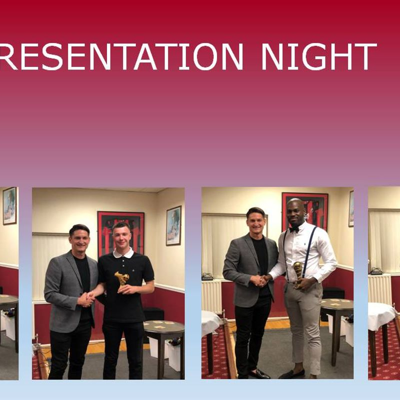 Presentation Night - Awards