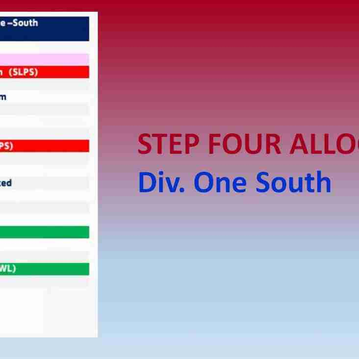 Division One South Constitution