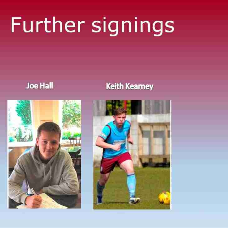 Further signings