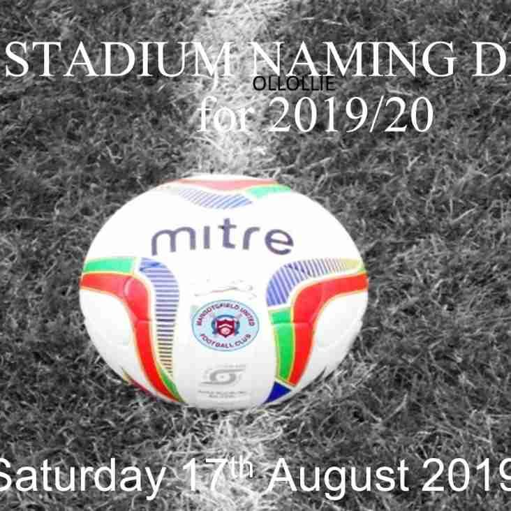 Stadium Naming Draw