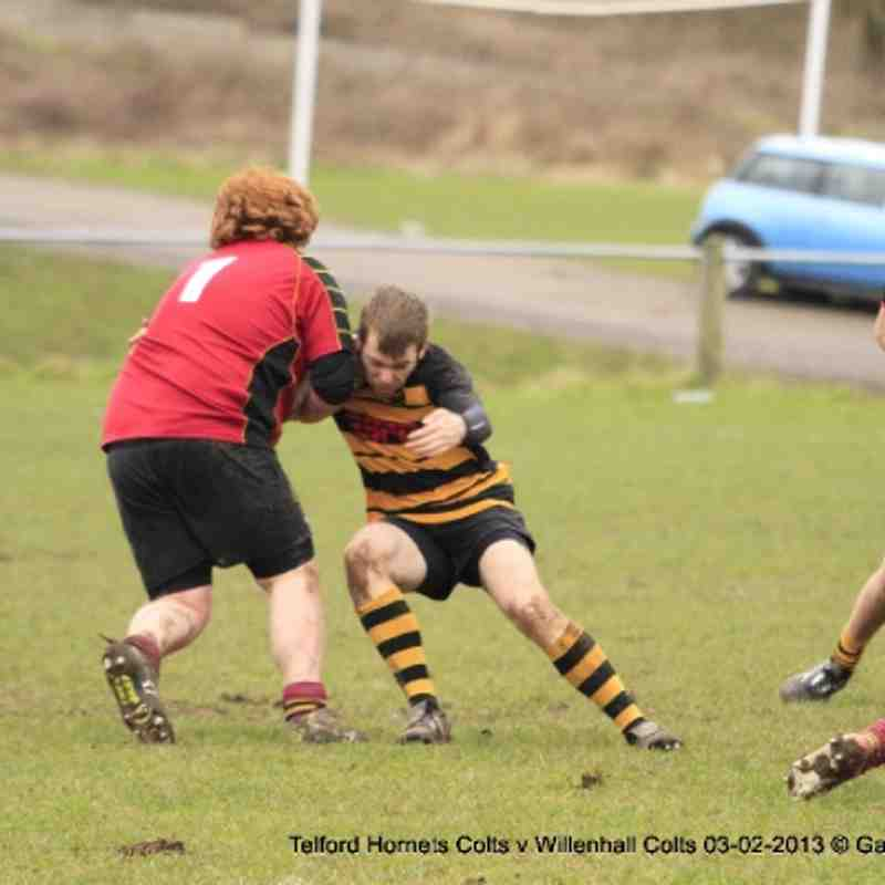 Telford Hornets Colts v Willenhall Colts 3rd Feb 2013