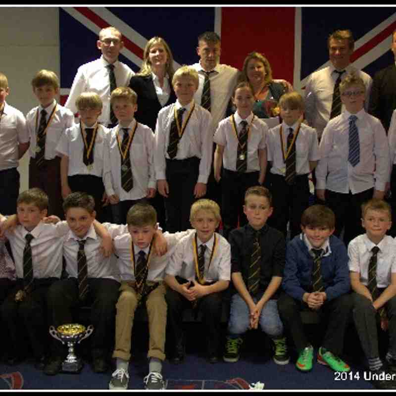 Under 10s Presentation Afternoon 11th May 2014.