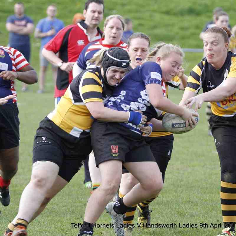 Telford Hornets Ladies v Handsworth Ladies 9th April 2017