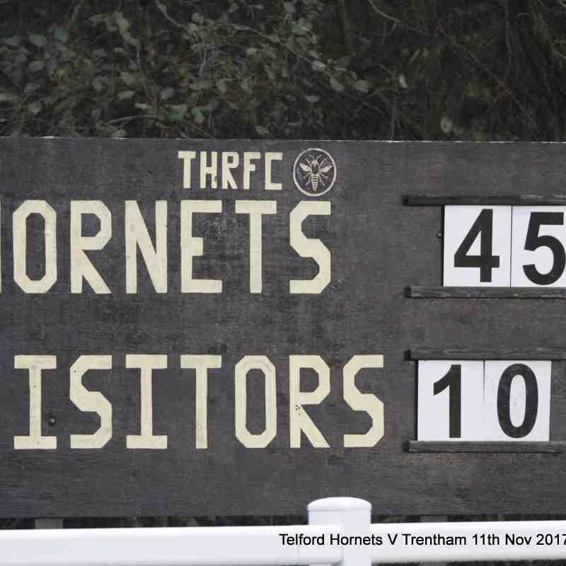 Telford Hornets v Trentham 11th November 2017
