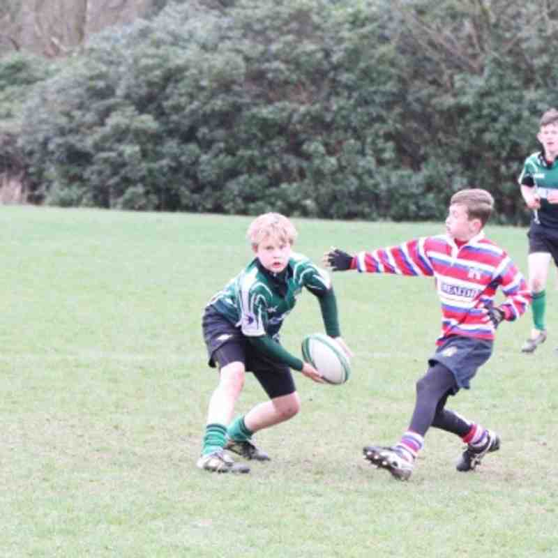 U13's friendly against Tonbridge Juddians February 3rd 2013