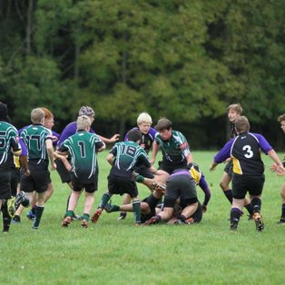 U15's on the wrong side of a very closely fought fixture.