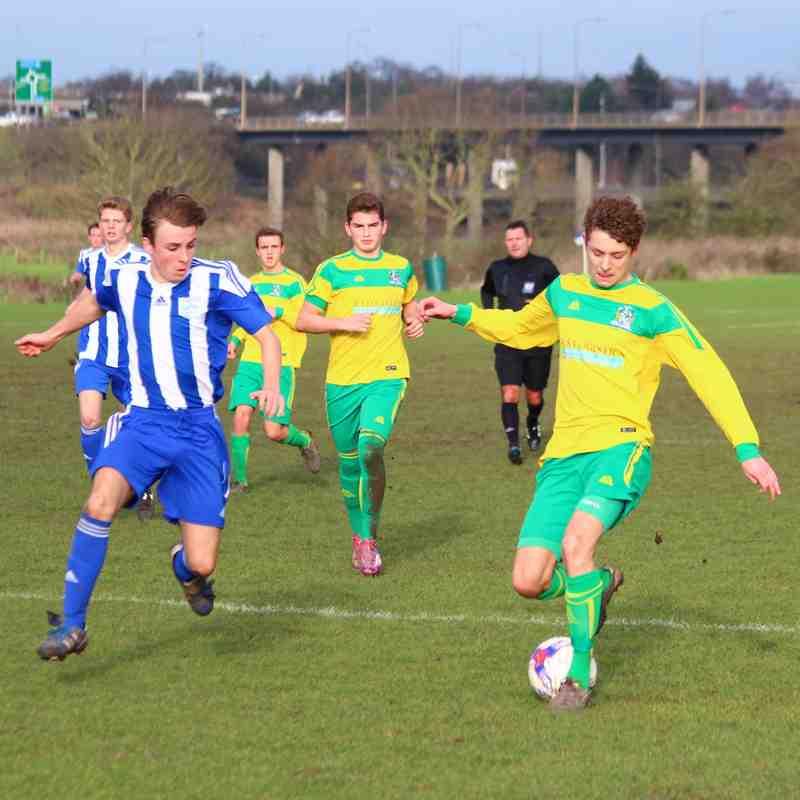 U18's V Tilbury