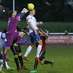TOWN EDGE PAST LEWES IN TENSE FINALE