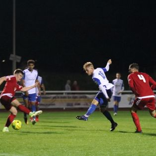 Town progress in FA Cup with emphatic win