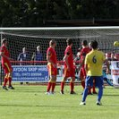Town frustrated by late penalty award