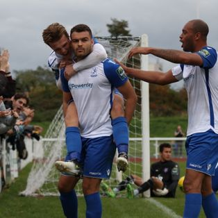 Town see off Margate to record back to back league wins
