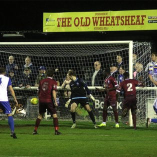 Town pegged back by late equaliser