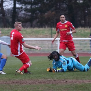 Strong second half showing secures Merstham a point
