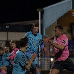 Debut goal for Wadkins but Town bow out