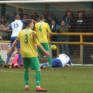 First half collapse seals fate