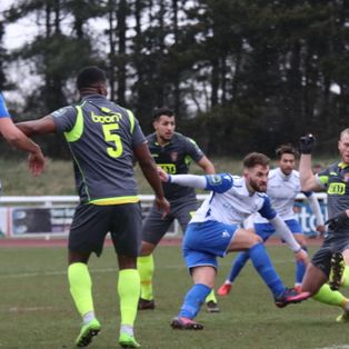 Staines edge cold but entertaining encounter