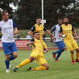 Town frustrated by late Hornchurch rally