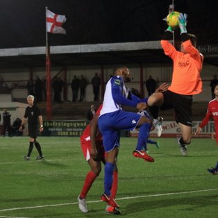 Carshalton Athletic 1 Enfield Town 0