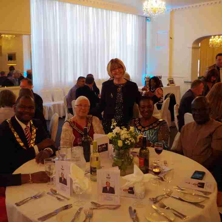 Successful gala dinner