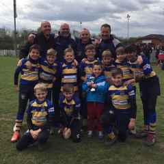 U10s Runner Up in the BOWL Kent Finals