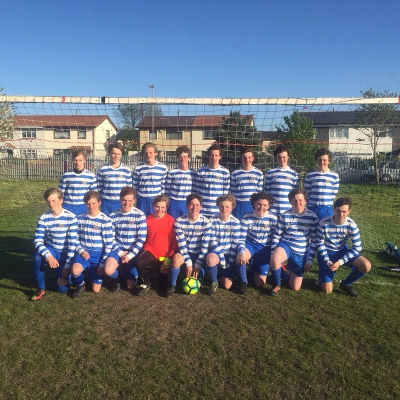Under 18s lose to Tarleton 1 - 5