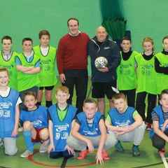 MSP's VISIT TO EYEMOUTH'S BANK OF SCOTLAND MIDNIGHT LEAGUE