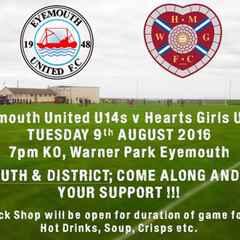 Eyemouth Utd U14's Vs Heart Of Midlothian