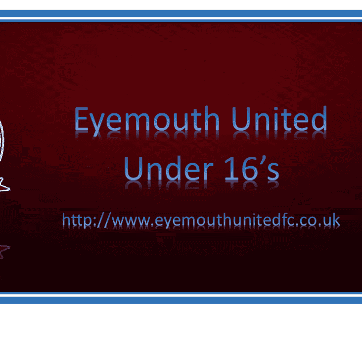 New Under 16's Team Ready for action