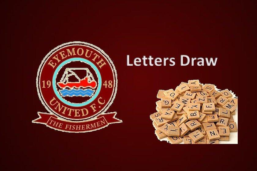 Eufc Letters Draw + 50/50 Draw