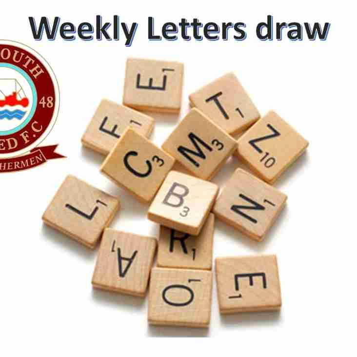Eyemouth United letters Draw