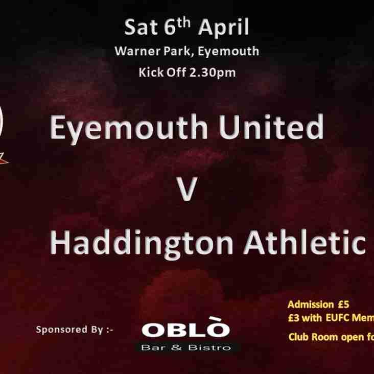 Eyemouth United V Haddington Athletic