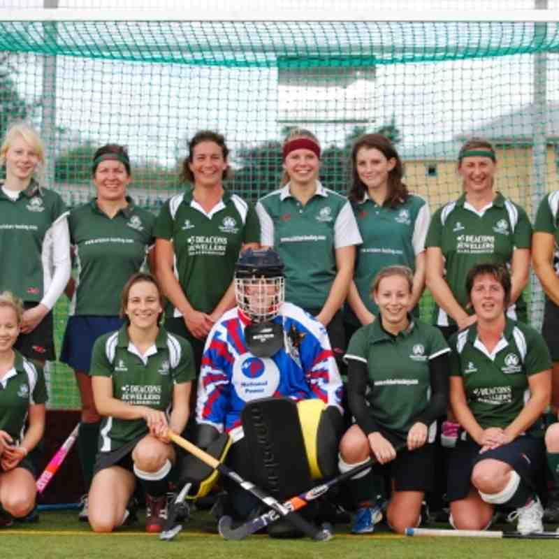 A selection of Ladies 2s photos from 2011