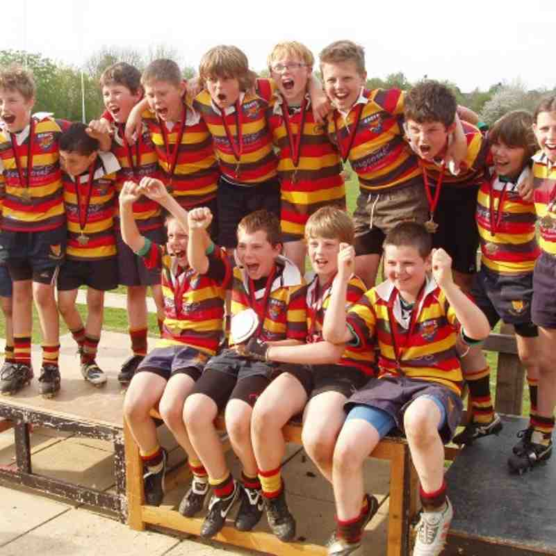U11s - County Festival Shield Winners April 2011