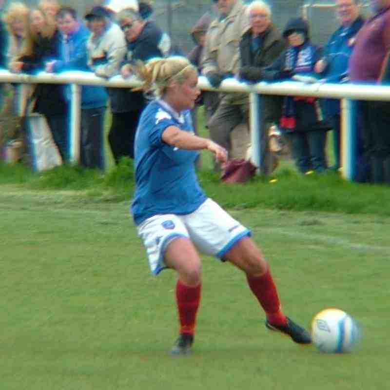 Portsmouth Ladies v Man City Ladies @ Hayling May 2013
