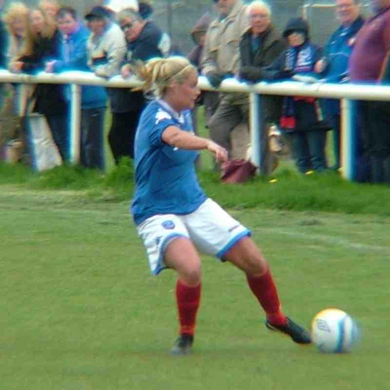 Portsmouth Ladies v Man City Ladies @ Hayling May 2013