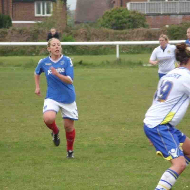 Portsmouth Ladies v Leeds Ladies May 2013