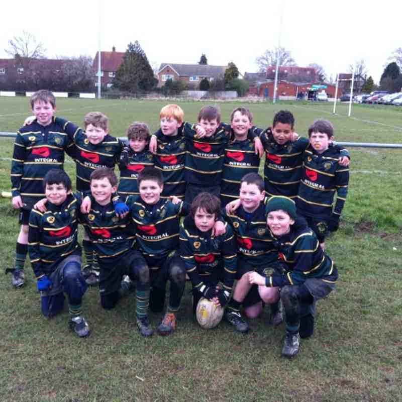FCRFC U10 at Glos Cup (Widden) 3rd March 2013