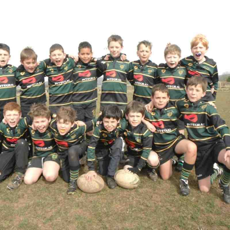 FCRFC U10 at Nailsea & Backwell 7th April 2013